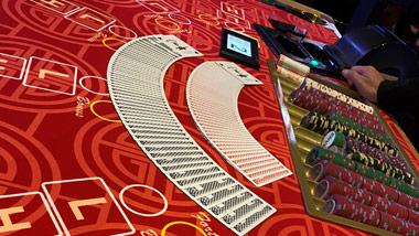 Asian Gaming Pit at Hollywood Casino Toledo